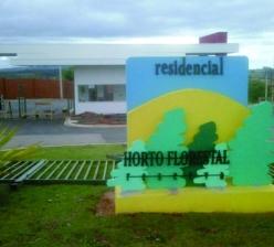 Construção de prédio da portaria e administração do condomínio residencial Horto Reserva
