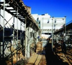 Construção de novo pavimento – Big Park Estacionamento